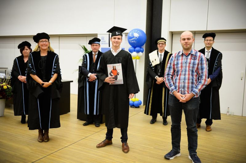 Ward Haeck wins ArcelorMittal award